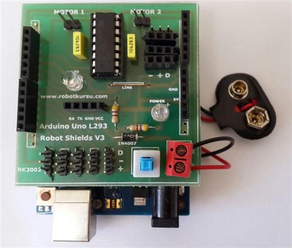 Arduino Motor Sürücü Modül