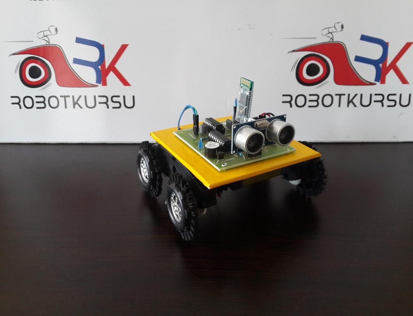 Bluetooth Kontrollü Robot