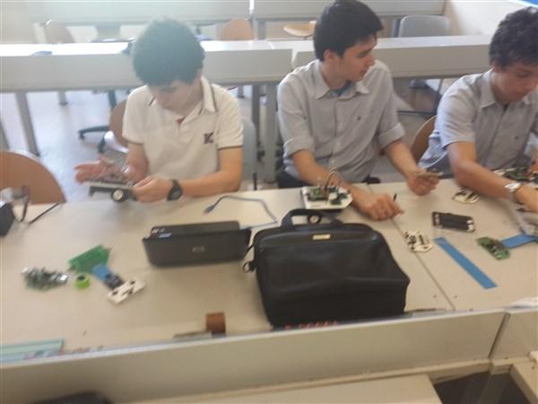 TED Bursa Koleji robot çalışmaları
