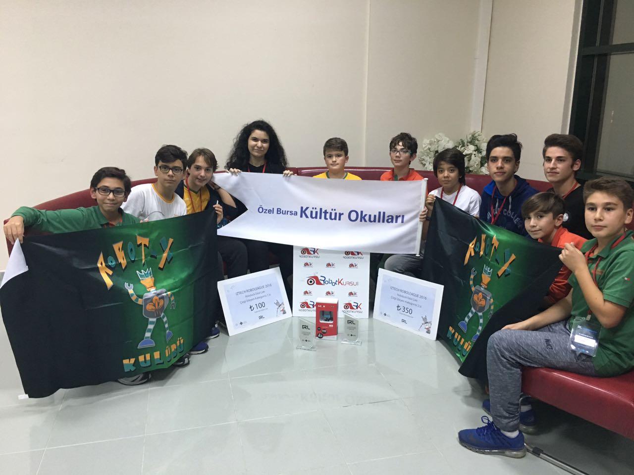 IZTECH ROBOLEAGUE Robot Yarışması