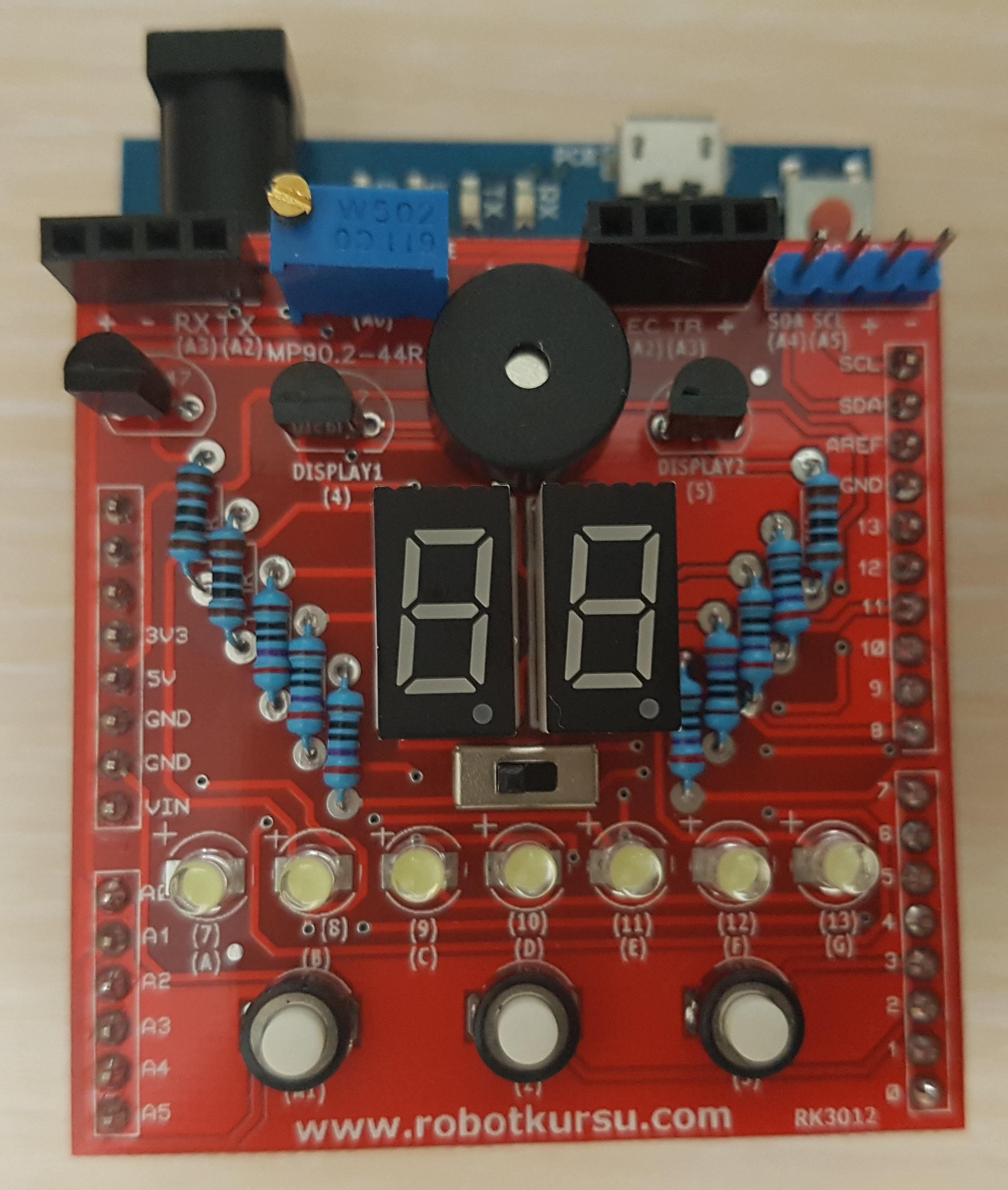Arduino Başlangıç Modülü V2