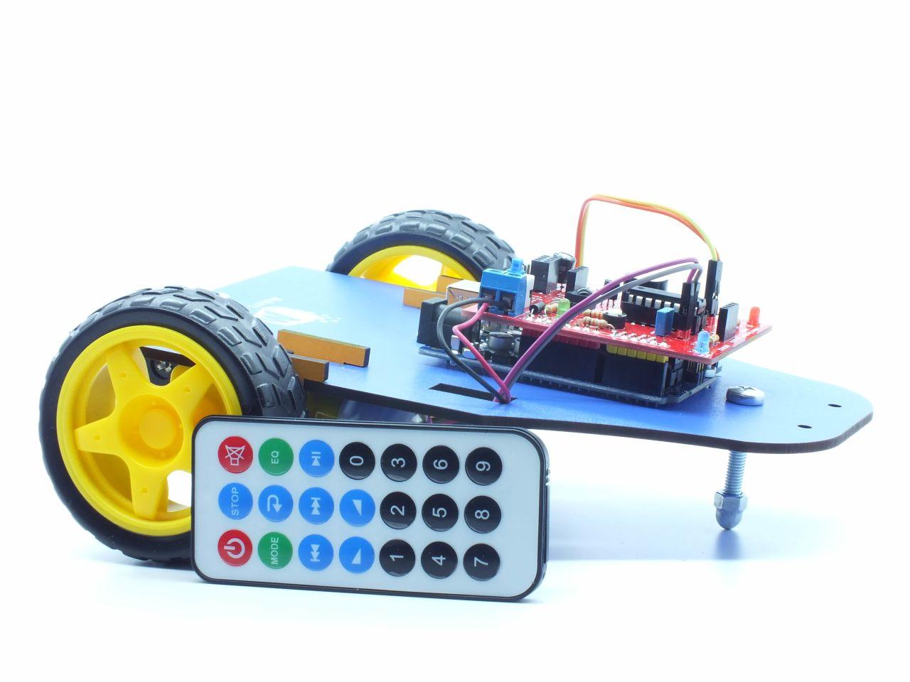 IR kontrollü robot