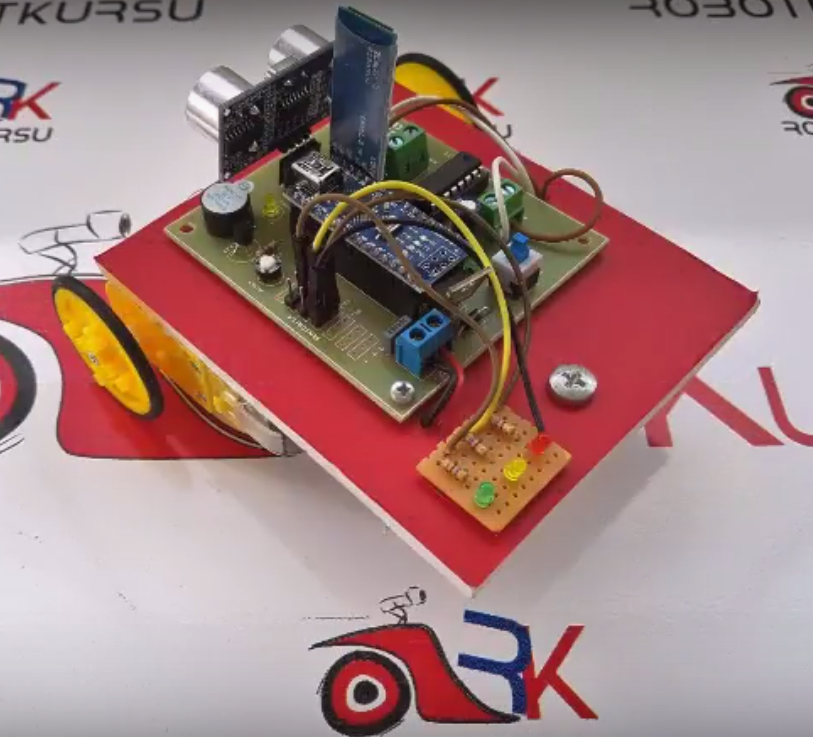 Park Sensörlü Robot